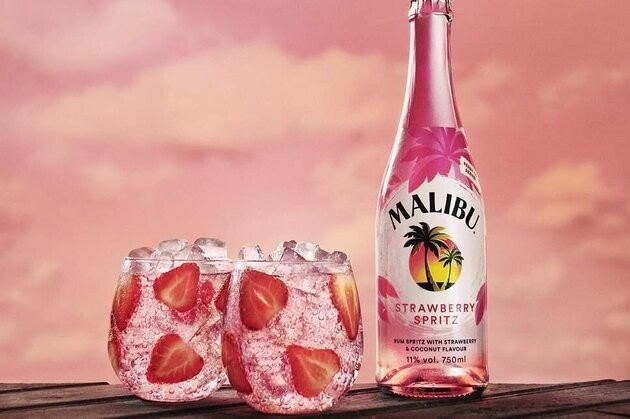 Malibu Is Launching A Strawberry-Flavoured Rum