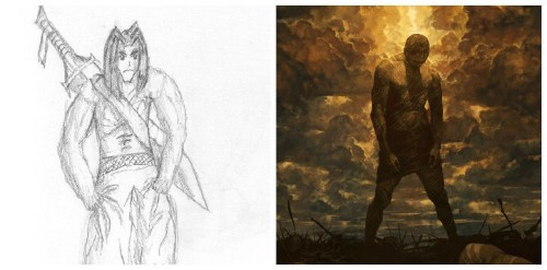 An Artist's Before-And-After Drawings Show What Happens When You Actually Stick To Your Dreams
