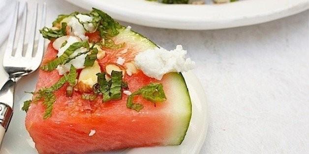 Turn a Slice of Watermelon Into a Tasty Salad