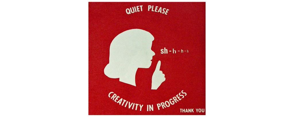 on creativity - Magazine cover