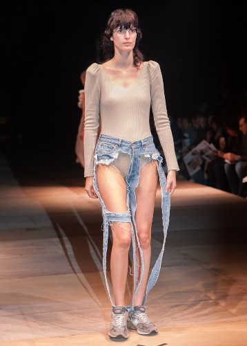 These High-Fashion 'Thong Jeans' Leave Little To The Imagination | HuffPost Life