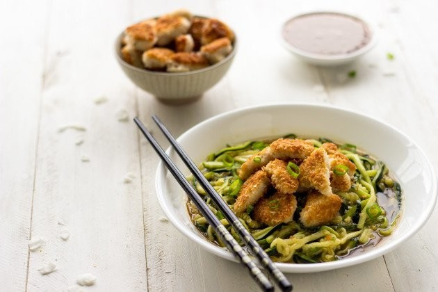 At Home Takeout: Honey Garlic Chicken With Coconut