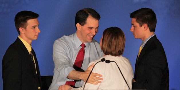 Scott Walker's Sons Disappointed With His Comments After Supreme Court Marriage Equality Ruling