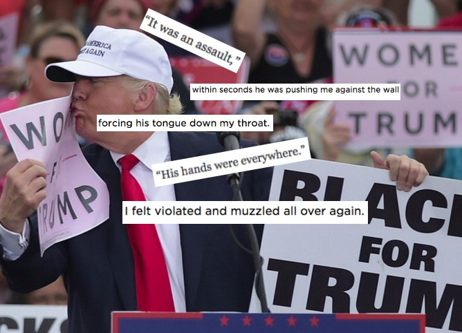 The Response To Trump's Alleged Victims Is Why Women Don't Come Forward