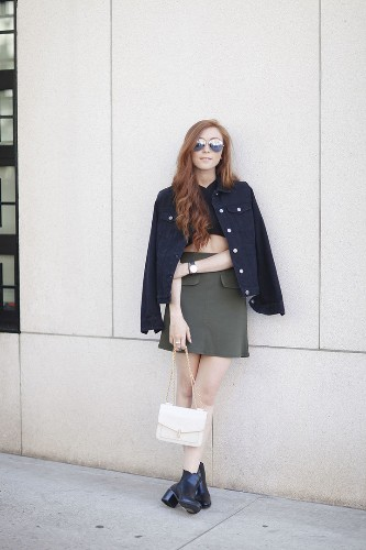 How To Get Away With Wearing With A Crop Top In The Fall | HuffPost Life