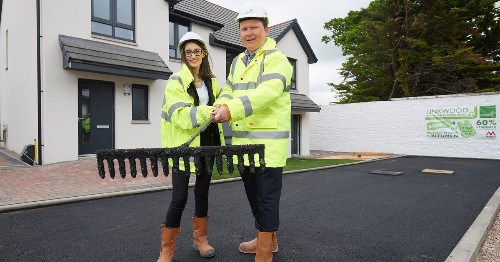 This Scottish Road Is Made From 17,000 Plastic Bags