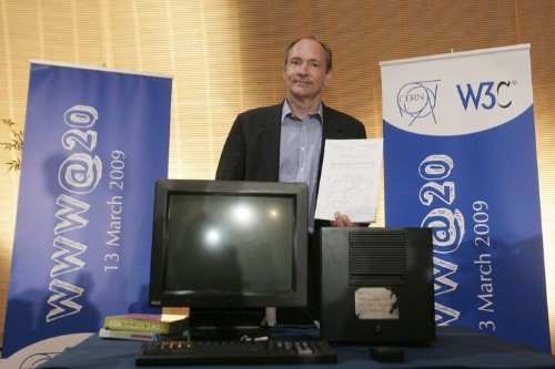 The World's First Website Went Online 25 Years Ago