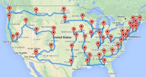 This Guy Planned The Most American Road Trip You Can Possibly Take | HuffPost Life