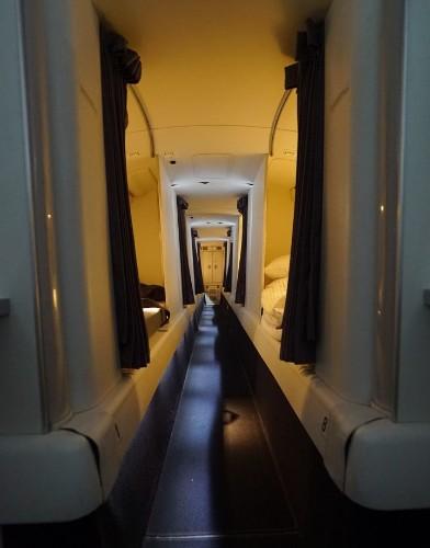 So THIS Is Where Flight Attendants Sleep   HuffPost Life