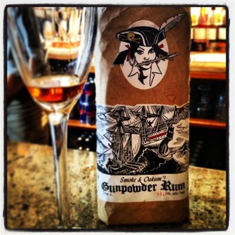 I Take My Rum With Extra Gunpowder