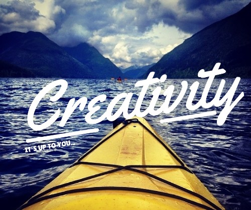 Unleash Your Creativity (It's Up to You)