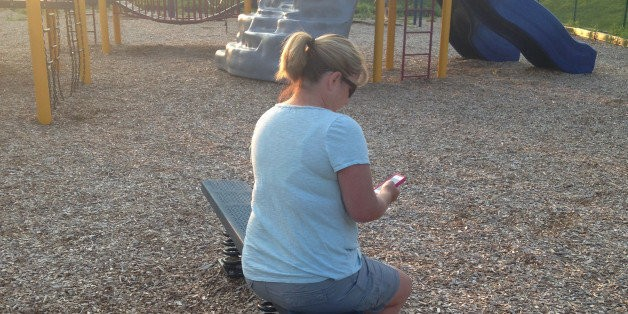 Dear Mom on the iPhone: You're Doing Fine | HuffPost Life