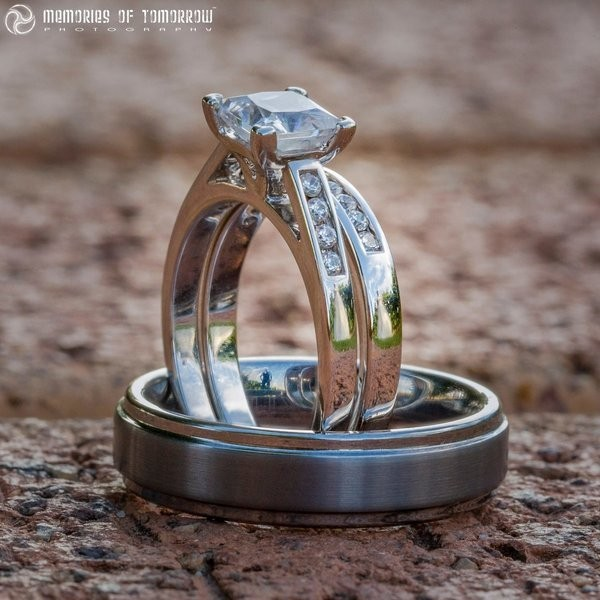 If You Look Closely At These Rings, You'll See The Couples That Wear Them