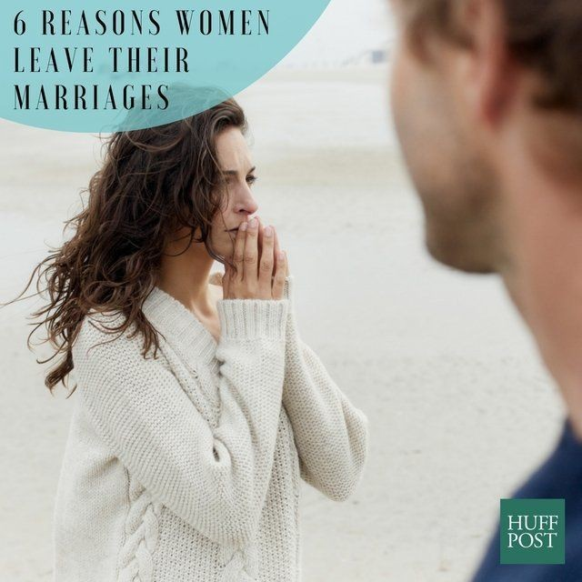 6 Reasons Women Leave Their Marriages, According To Marriage Therapists | HuffPost Life