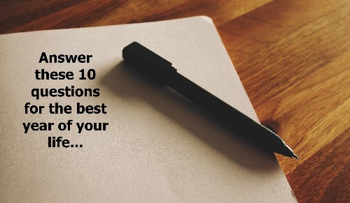 10 Questions for Your Best Year Ever