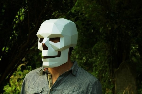 Still Need A Halloween Costume? Print These Gorgeous Geometric Masks For An Instant Outfit