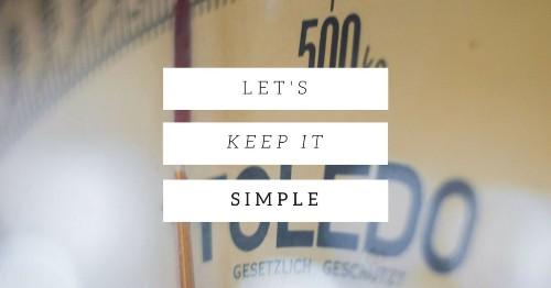 Fat Loss Basics: 5 Simple Steps