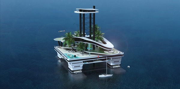 You Never Thought You Needed A Mobile Private Island... Until Now