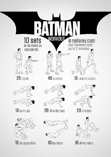 Train Like a Superhero