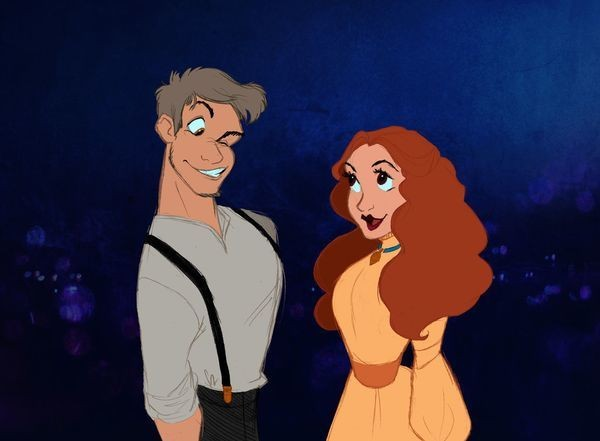 Artist Reimagines Disney Animals As Humans, And You Won't Look At Them The Same Again
