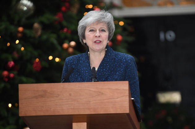 Theresa May Secures Public Support Of 158 Tory MPs – Enough To Win No Confidence Vote
