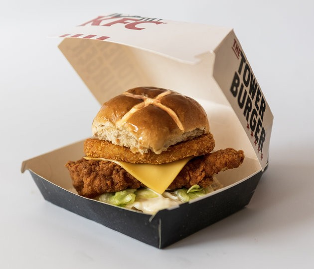 KFC Has Just Ruined Easter With A Hot Cross... Burger