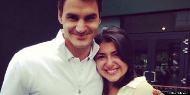 Roger Federer's Compassion Goes Viral As Cancer Survivor Gets Wish Of A Lifetime