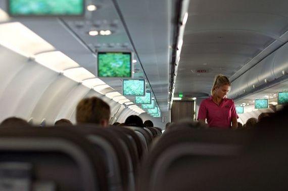 flight attendant - Magazine cover