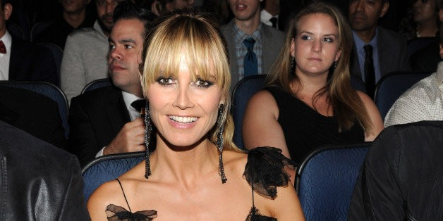 Heidi Klum Admits She's Scared Of Plastic Surgery