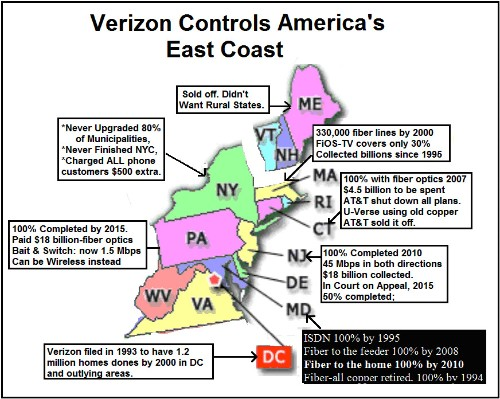 Verizon's Massive East Coast FiOS Scandal: 41 Percent Coverage Using 'Weasel Room' Math