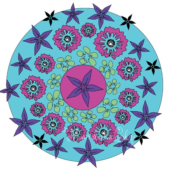 Why I Finally Finished Creating a Mandala Coloring Book I Had Worked on for Almost a Decade