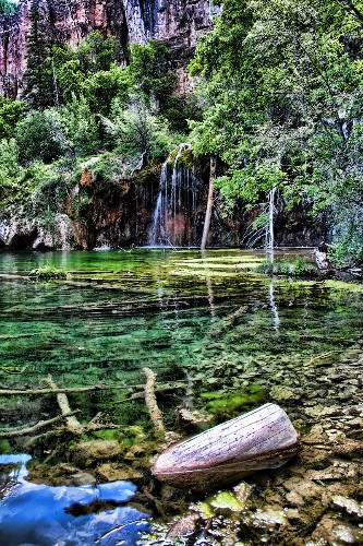 Hanging Out in Hanging Lake (Colorado Rocky Mountains)