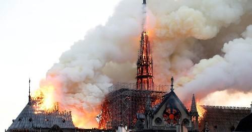 Watching Notre Dame Burn, I Never Felt So European