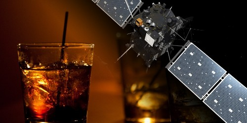 Toast of the Week: The Best Way to Celebrate Mankind Landing on a Freakin' Comet