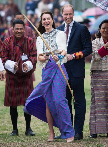 The Duchess Of Cambridge Goes To Bhutan, Finds Her True Calling In Archery | HuffPost Life