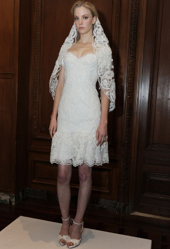 See The Newest Wedding Dresses From Marchesa's Spring 2015 Collection