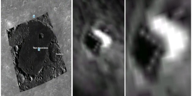 Google Images Reveal Triangular Moon Mystery: Could It Be An ET Colony?