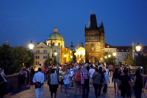 Prague: Jumbled with History