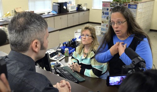 Kentucky Can't Just Fire The Clerk Who Won't Give Marriage Licenses To Gay Couples