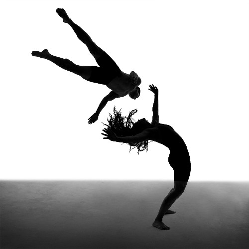 Black and White Photography: Dancers in the Dark