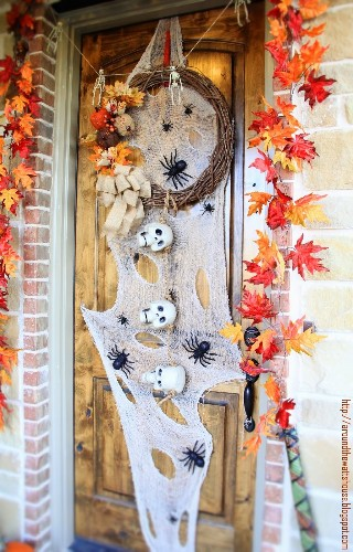 45 Easy DIYs to Make Your Halloween House the Best On the Block