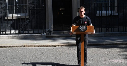People Are Saying The Best Bit About The PM Resigning Was This Guy