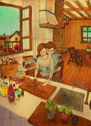 Artist's Illustrations Remind Us Love Is The Little Things