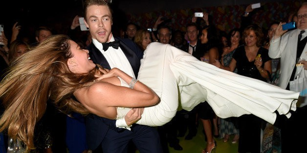 Sofia Vergara And Derek Hough Dance The Night Away At Emmys After-Party
