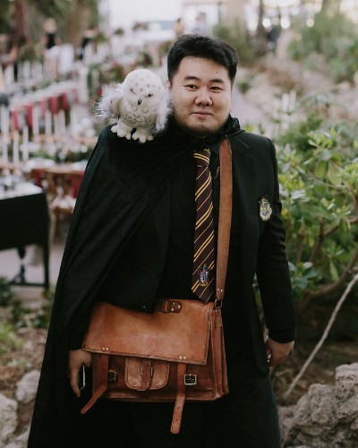 J.K. Rowling Would Be Impressed With This Harry Potter-Themed Wedding | HuffPost Life