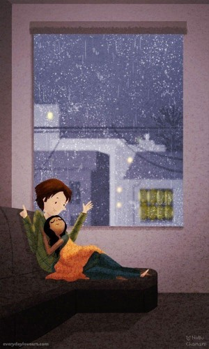 Artist's Illustrations Capture The Simple Beauty Of Everyday Love | HuffPost Life