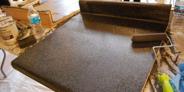 'Paint-Your-Own Granite' Is A Thing, And Apparently It Actually Works | HuffPost Life