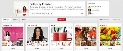10 Celebrity Pinterest Accounts You Should Be Following (PHOTOS)