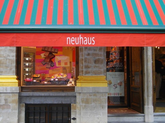 A Photo Tour: Chocolatiers in Brussels