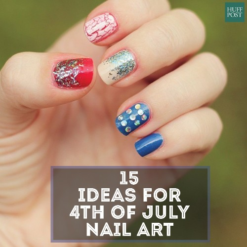 American Flag Nail Art For Your Fourth Of July Celebration
